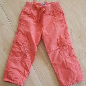 2T Gymboree Fleece lined pants